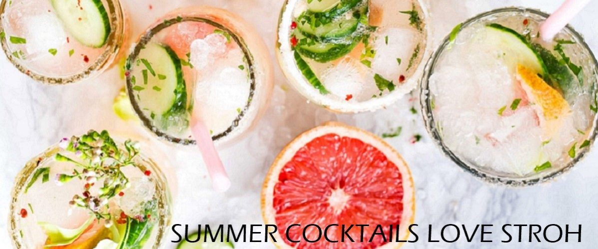Refreshing, citrus cocktails with fresh ingredients.